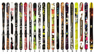 The Fleischer Sports Wall of Skis – A.K.A. – The Trophy Room – Men's