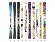 Fleischer Sports Wall of Skis