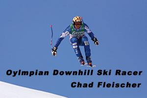 Olympian Chad Fleischer