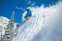 Steep Powder Skiing