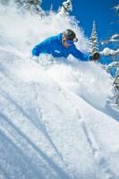 More Powder Skiing