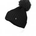 Bogner Womens Hat-Black-9154 LEONIE P314 001